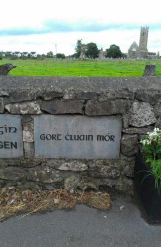 Gortcloonmore Name Stone, 1996 | Josette Farrell, Claregalway.info