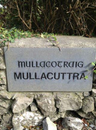 Mullacuttra Name Stone, 1996 | Josette Farrell, Claregalway.info