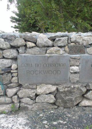 Rockwood Name Stone, 1996   Josette Farrell, Claregalway.info