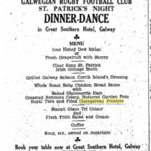 St. Patrick's Day Dinner Dance 1959 | irishnewsarchives.com, CC-BY-NC-ND