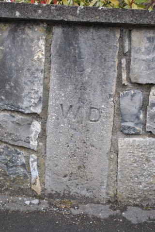 WD marker on Castle Street | Christy Cunniffe