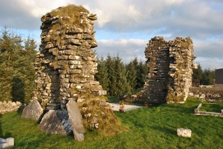 Surviving remains of Grange church | Christy Cunniffe