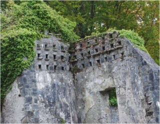 Individual pigeon holes in dovecote.   Christy Cunniffe
