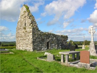 Kilcooley medieval parish church from northwest. | Christy Cunniffe