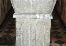 Ardrahan Baptismal Font.