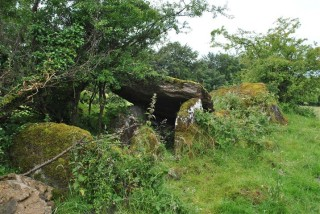Wedge tomb from the end   Christy Cunniffe