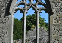 Portumna south window