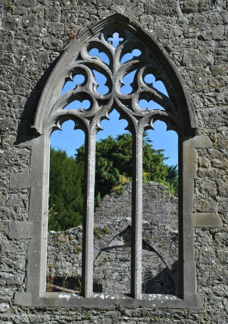Ornate window in south transept | Christy Cunniffe