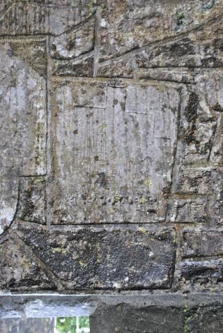 Seventeenth-century slab. | Christy Cunniffe