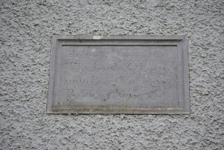 1839 mural plaque | Christy Cunniffe