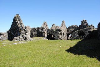 Some of the buildings within Cromwell's Barracks.   Christy Cunniffe
