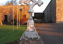Meelick finial cross