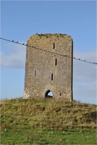 Deerpark Castle near Kilchreest Co. Galway. | Christy Cunniffe