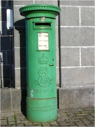 Pillar box. | Christy Cunniffe