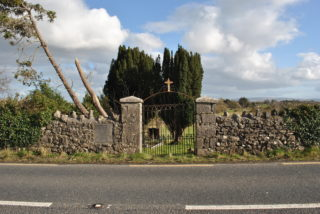 Gate to Gort Workhouse graveyard. | Christy Cunniffe