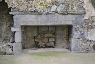 Isertkelly Castle fireplace | Christy Cunniffe