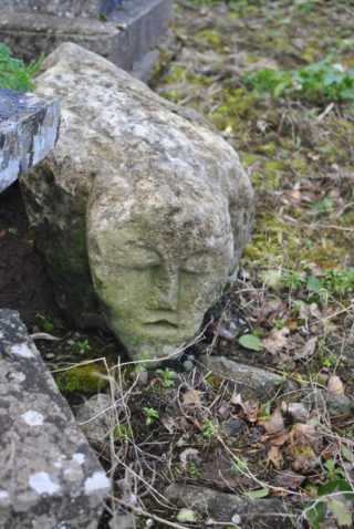 Medieval carved head from Kilconieran | Christy Cunniffe