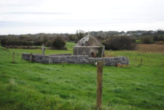 Setting of St Colman's Well in the landscape. | Christy Cunniffe