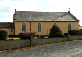Cappataggle Church/ photo Gerry Costello