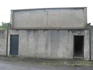 Detached outbuilding, formerly cinema