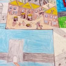 Seo chugat liosta na ndaltaí a ghlac páirt inár gcuid oibre bunaithe ar Bhaile Locha Riach sna meánaoiseanna.  - Students from Gaelscoil Riabhach who worked on the Medieval Loughrea project: