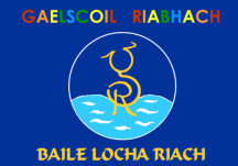 Seo chugat liosta na ndaltaí a ghlac páirt inár gcuid oibre bunaithe ar Bhaile Locha Riach sna meánaoiseanna.  - Students from Gaelscoil Riabhach who worked on the Medieval Loughrea project: