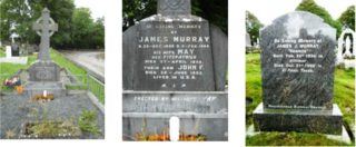 Memorials to Murray Family in the Old Cemetery, Killimor