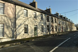 Barrack St in 2012 | Clarinbridge Heritage