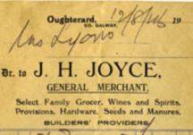 Shop Receipt 1916