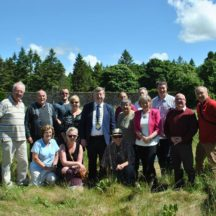 Committee and Officials in Garden | Mountbellew Heritage and Tourism Network