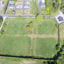 Drone pic Walled Garden | Mountbellew Heritage and Tourism Network