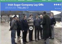 Irish Sugar Factory Lay offs 1986