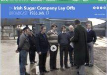 Irish Sugar Factory Lay offs 1986
