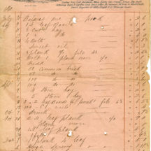 Ballygar Shop Receipts