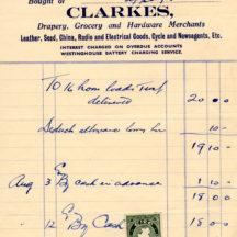 Ballygar Shop Receipts