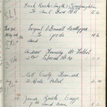 Shop Ledger 1936