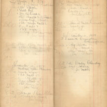 Shop ledger 1906