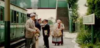 John Wayne in a scene from The Quiet Man in Ballyglunin Railway Station | www.irishindependent.ie