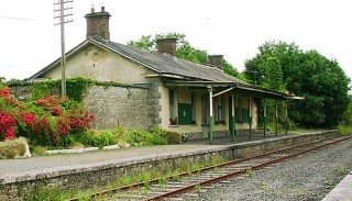Ballyglunin Railway Station in the parish of Killererin, where scenes from the famous film 'The Quiet Man were filmed | Photo: Bernadette Connolly, Clogherboy