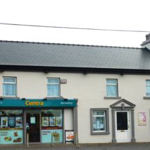 Centra shop, Barnaderg | Photo: B. Forde, Ballynakilla, Togher, (2015)
