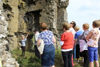 Hedge School at Barnaderg Castle