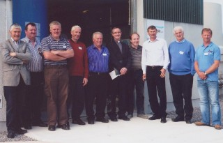 Committee members 2012:L-r: John Diskin, Michael Treacy, Ger Nally, Peter Monaghan, Sean Roche, Fr. Tod Nolan, Tom Quirke, Paul Mannion Sean Carter and Kevin Hession. | B. Connolly