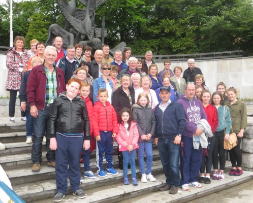 Group of parishioners who went on a tour of 1916 sites in Dublin, organised by Killererin Heritage Society on Saturday 21st May, 2016 | Bernadette Forde, Togher
