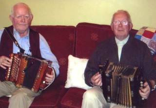 L-r: Willie Mannion and P.J. McGrath, both now living in Tuam, formerly of Killererin.  | Photo: contributed by P.J. McGrath