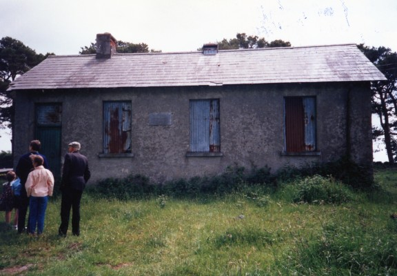 Cloondahamper NS where Bridget Donelan taught in the early 20th century. Image taken in 1986.  | Image: Charles Donellan Hynes by email