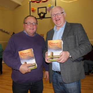 L-r: Pat Dunleavy and John Byrne | Image: Bernadette Connolly