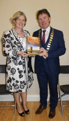 Marie Mannion, Heritage Officer with GCC and An Cathaoirleach and Mayor of Co. Galway, 2015 Cllr. Peter Roche | Image: Bernadette Connolly