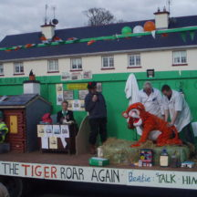 St. Pat4rick's Day Parade, 2008 - The Tiger Roars Again | Bernadette Connolly, Clogherboy