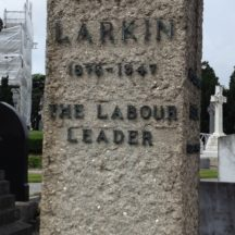 Burial place of James Larkin, founder of the ITGWU | Photo: B. Forde