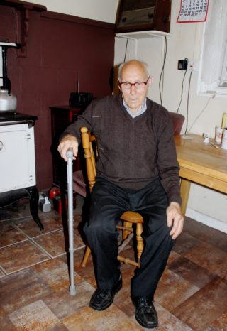 Johnny Potter in his home in Derrybaun | Bernadette Connolly, Clogherboy